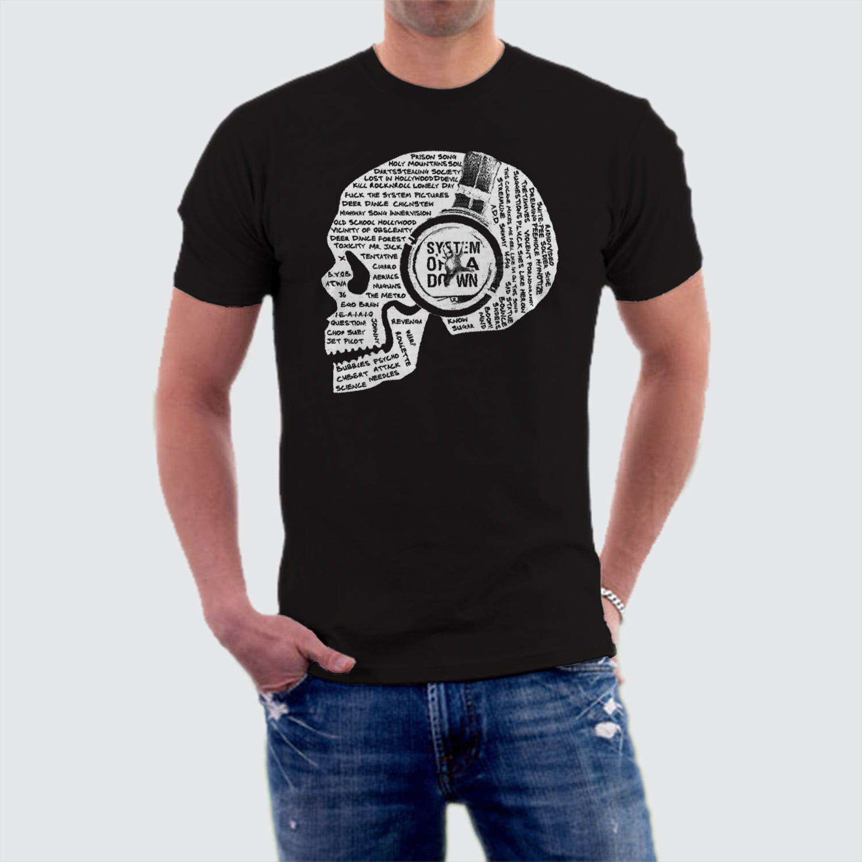 1b3de75ab5b92 Camiseta Banda System of a Down M-2