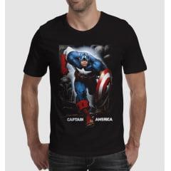 Camiseta Capitão América M-1