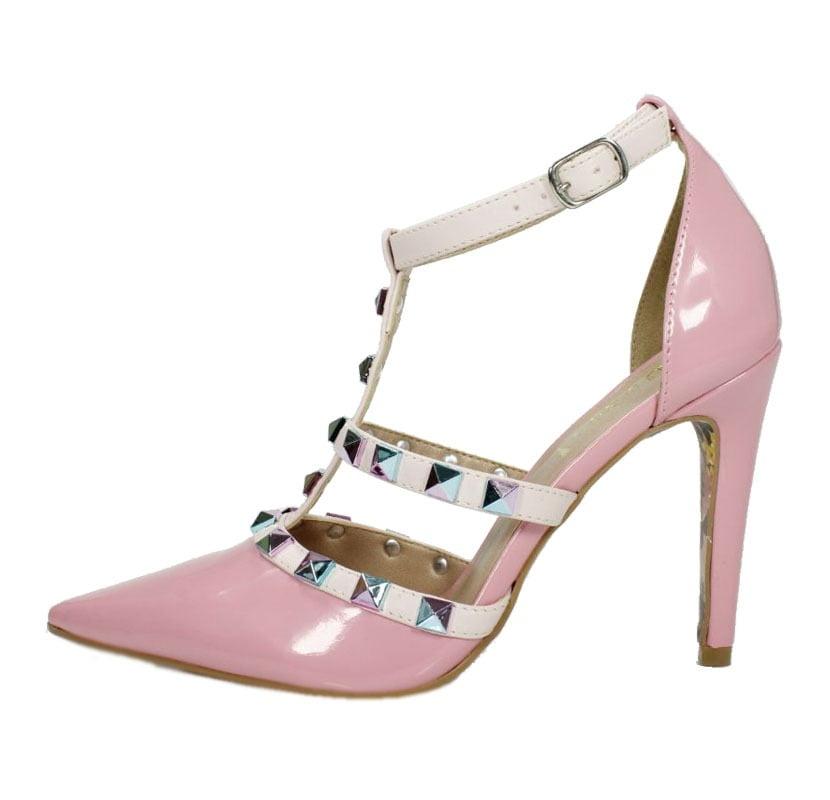 6657b91ab Scarpin Salto Alto Valentino Rosa Bebê – Week Shoes: Será que vale a ...