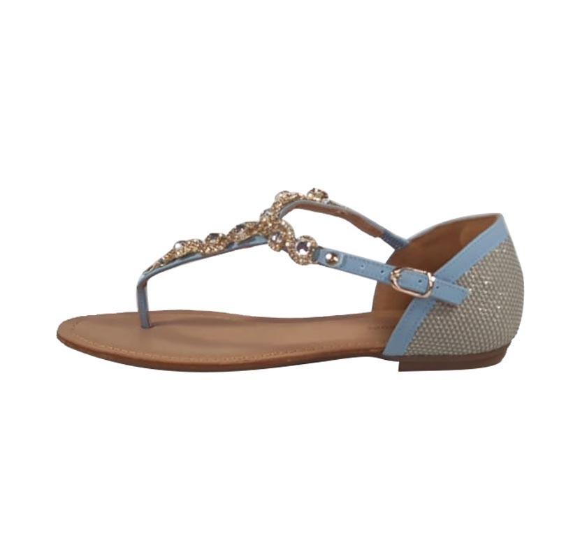 c8f29ef911 Rasteirinha Azul – Week Shoes  Coleção Primavera-Verão 2018 2019
