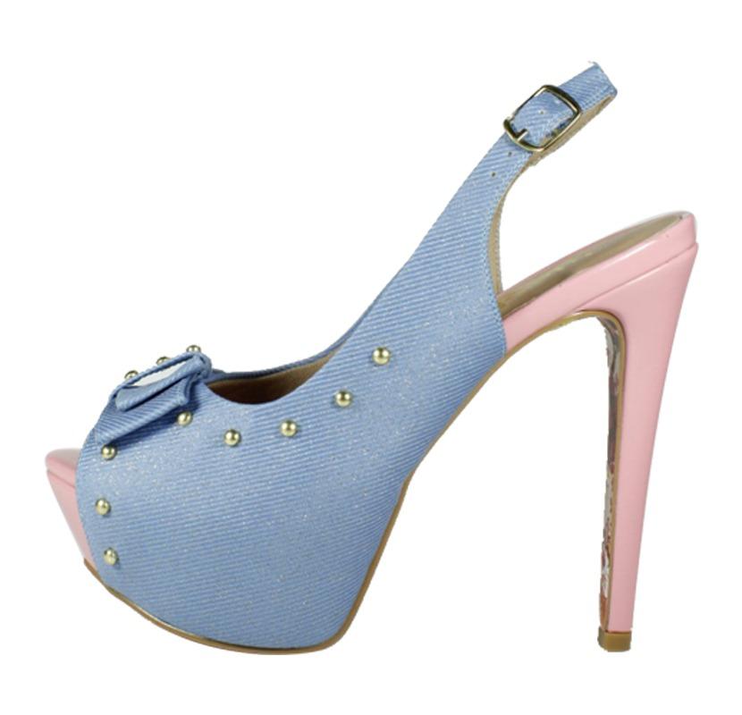 72ff71b69 Sandália Chanel Jeans e Rosa – Week Shoes: Será que vale a pena?