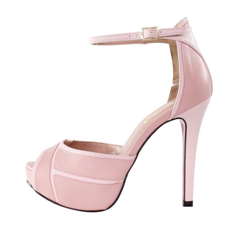 e33f351d71 Sandália Salto Alto Meia Pata 3D – Week Shoes  Será que vale a pena