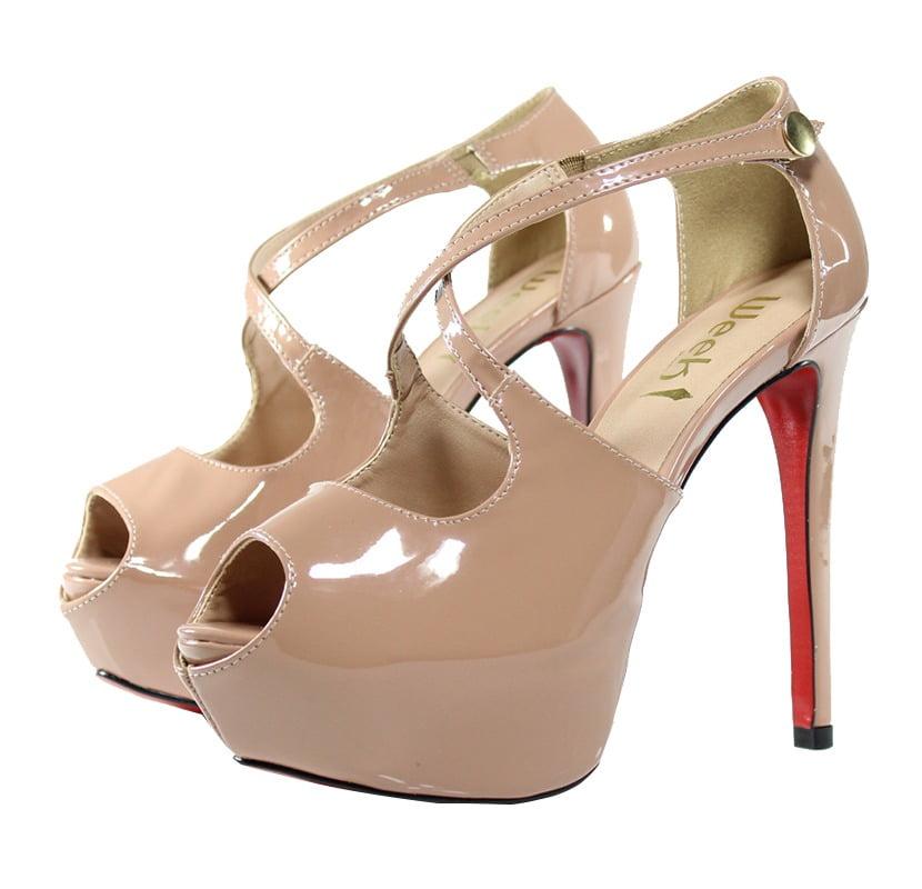 1d707e50a Sandália Meia Pata Nude - Week Shoes  É confiável
