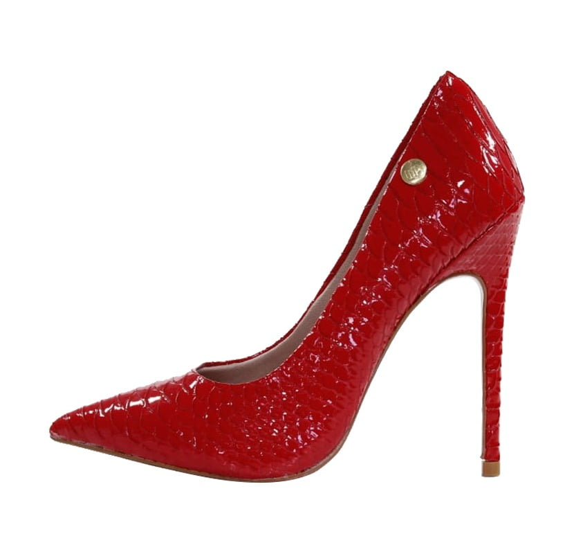 bcc1c79dfa Stiletto Verniz Vermelho - Week Shoes  Liberte-se!