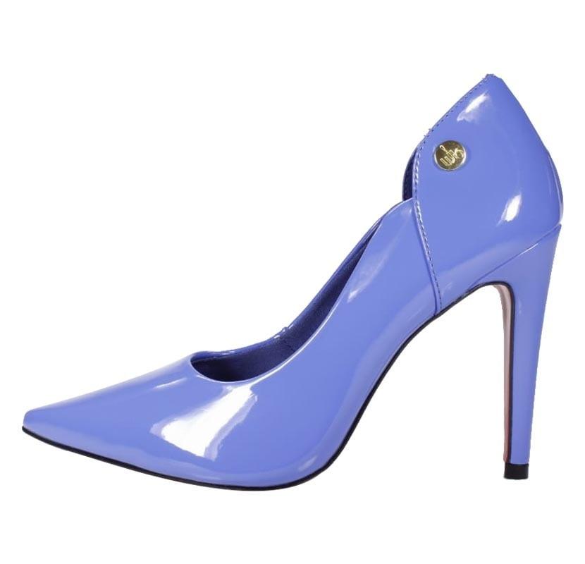 f8fca09ce Scarpin Salto Alto Azul - Week Shoes: É confortável?