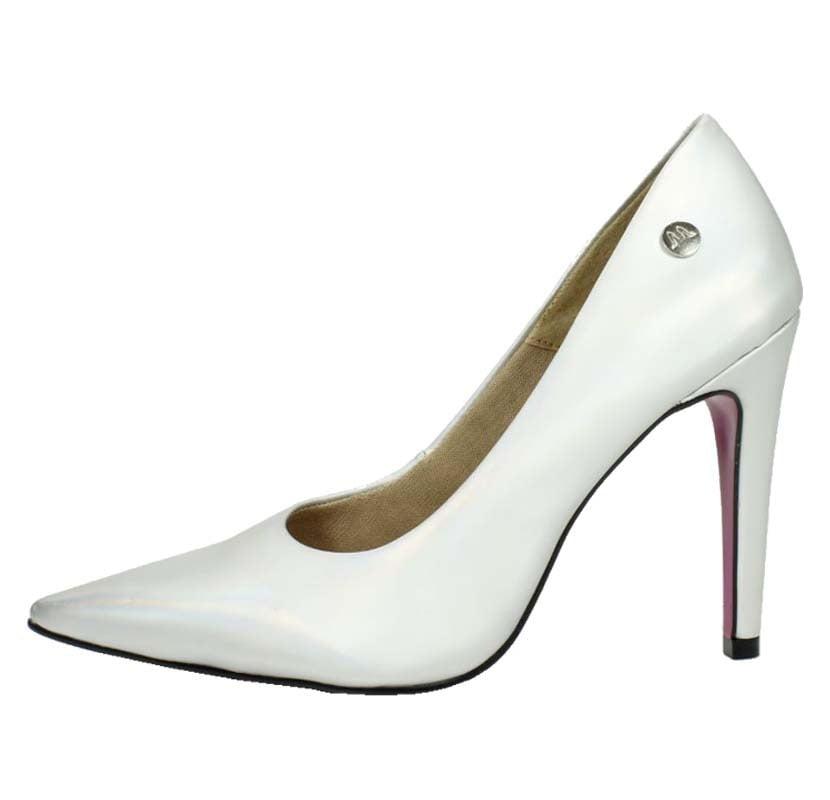 810620405 Scarpin Salto Alto Prata Fosco – Week Shoes: Liberte-se!
