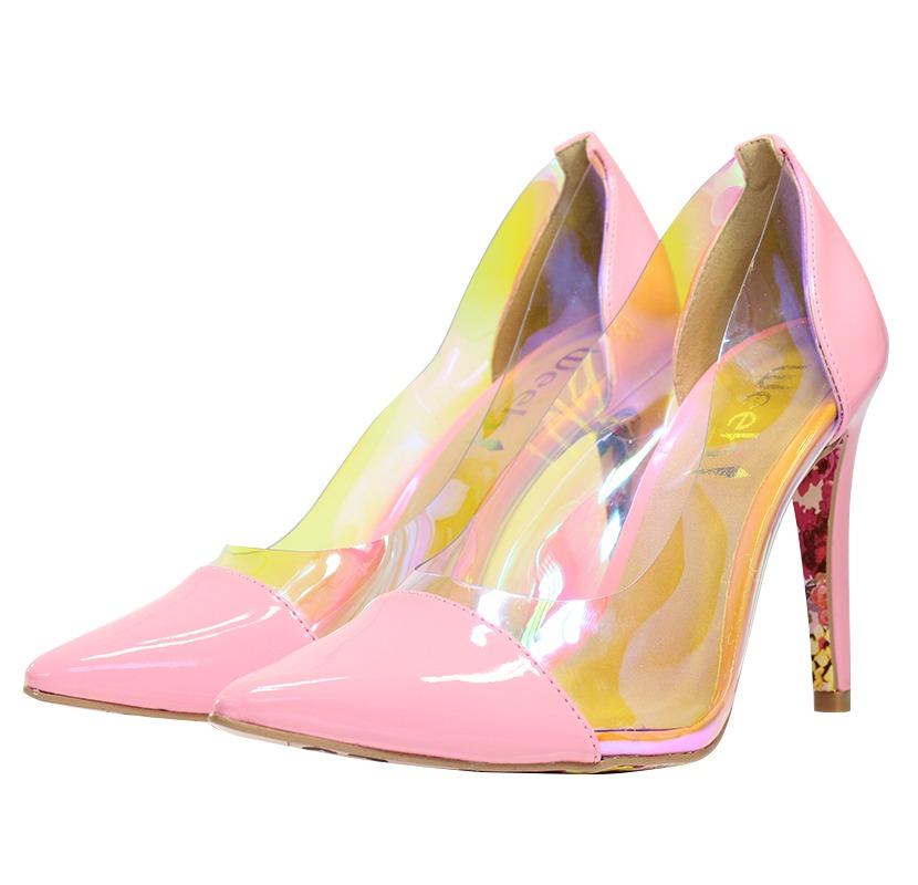 f16af882aa Scarpin Transparente - Week Shoes  É confortável