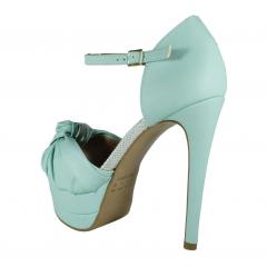 96f40b8bc Sandália Meia Pata Azul - Week Shoes: Parcelamento em até 4X. Clique Agora!