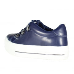 TÊNIS FLATFORM WEEK SHOES TACHAS NAPA AZUL