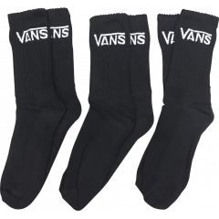 Pack 3 Pares Meias Vans Classic Black