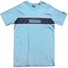 Camiseta New Era Mariners Azul Claro