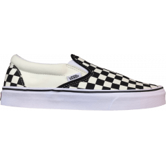 Tênis Vans Classic Slip On Checkerboard Black/White