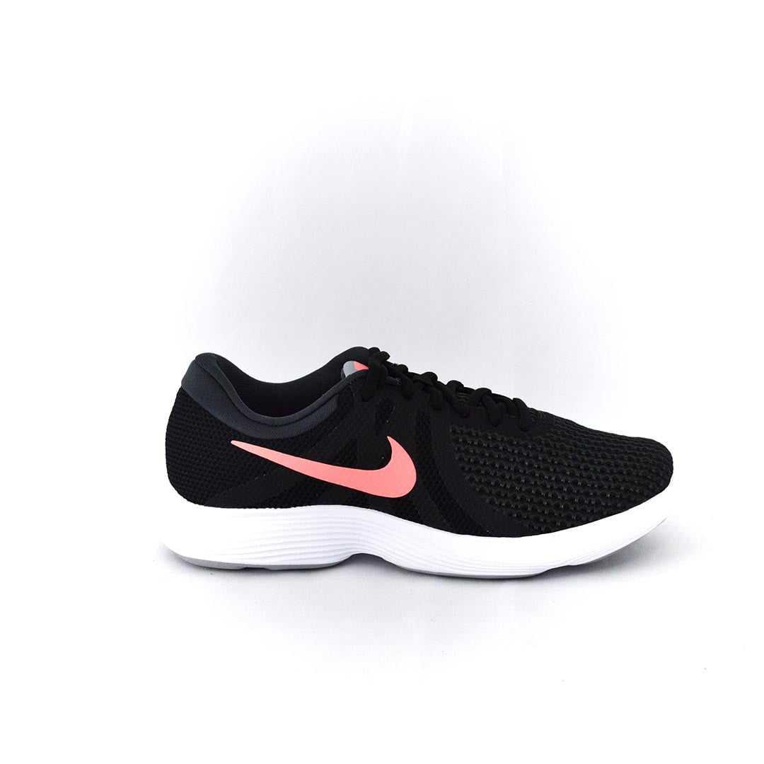 Tênis Nike Revolution 4 Academia Preto Rosa dc250f55341db