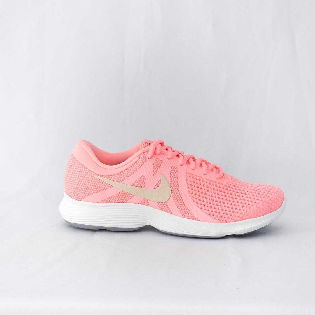 50e841e1ba Tênis Nike Revolution 4 Pink Branco