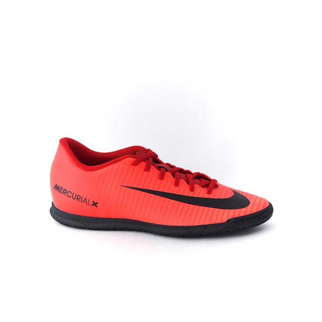 10860f18de Tênis Nike MercurialX Vortex III IC Futsal Vermelho