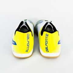56e797db136 Tênis DalPonte 834170013 Futsal Twister Branco Azul - Islen Calçados