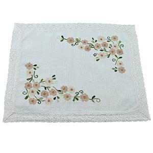 Toalha de Bandeja Cairel Mini Flor Duna