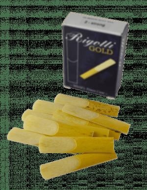 Palheta Rigotti Sax Tenor caixa com 10