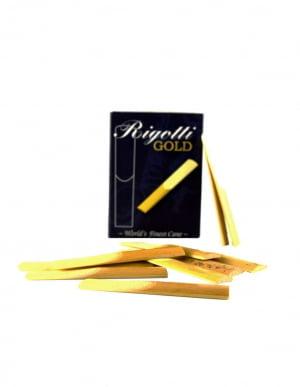 Palheta Rigotti Sax Soprano Caixa com 10