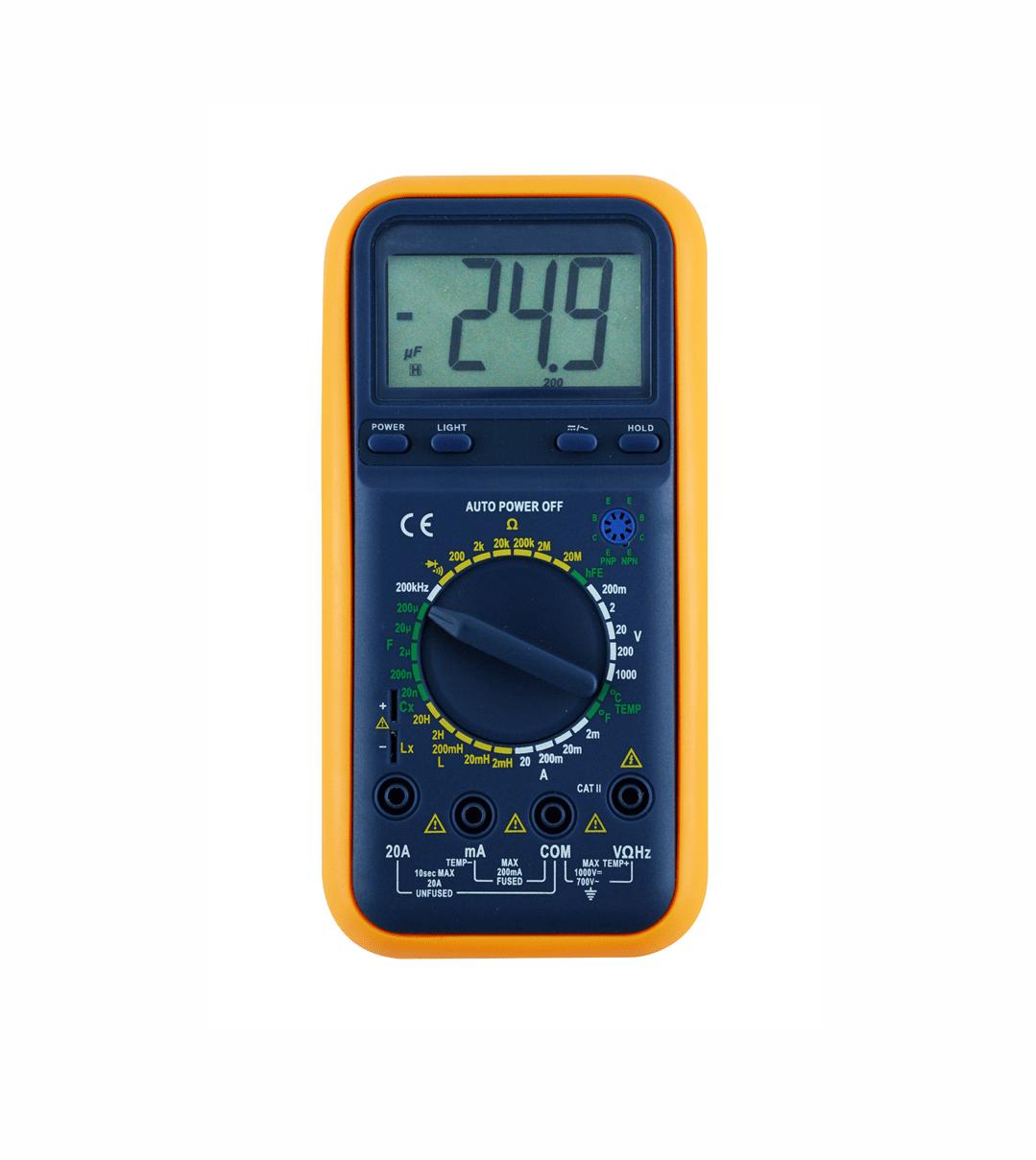 Medidor de LCR/Multímetro Digital Portátil - RLC-820