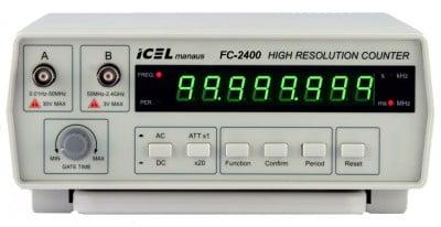 FREQUÊNCÍMETRO DIGITAL DE BANCADA - FC-2400