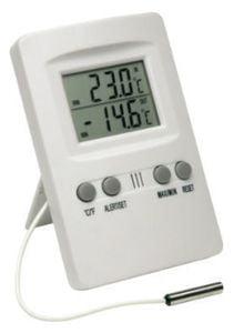 Termômetro Máx/Mín c/ ALARME (Temp Int(-10+60ºC)/Ext(-50+70ºC)) - Incoterm - 7427.02.0.00