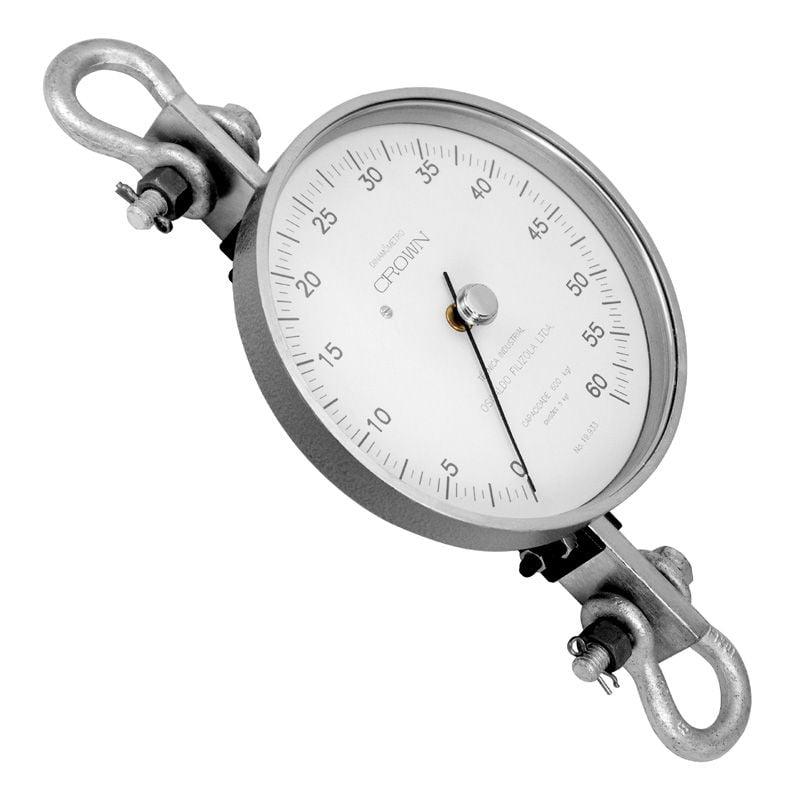 Dinamômetro Analógico Circular 1000 kgf - Crown - BR-1000