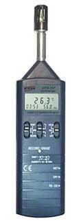 Termo-Higrômetro Portátil c/ Data-Logger e rs-232 - HTR-157