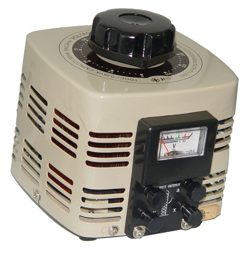 Variador de Voltagem Monofásico (Variac) 2 KVA, 8A - JNG - TDGC2-2