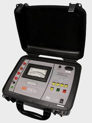 Megômetro Analógico (3TΩ/15kV)   Megabras   MI-15KVE
