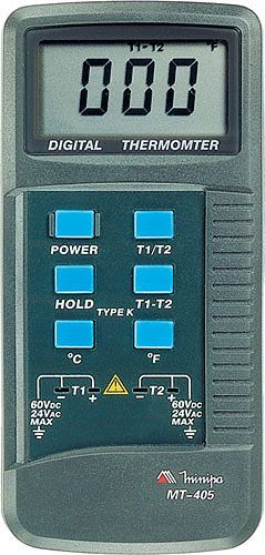 Termômetro (2x canais) Portátil - Minipa - MT-405