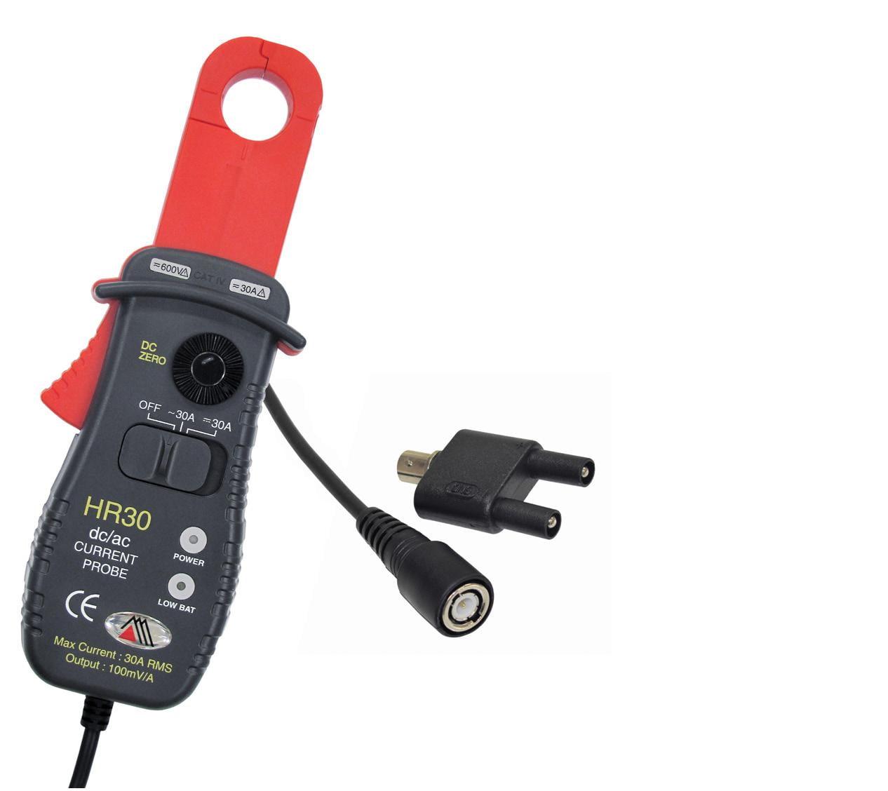 Garra de Corrente p/ Osciloscópio (30 AAC/DC) Minipa HR-30