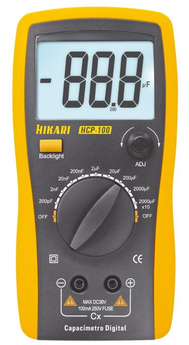 Capacímetro 20.000 uF  Hikari  HCP-100