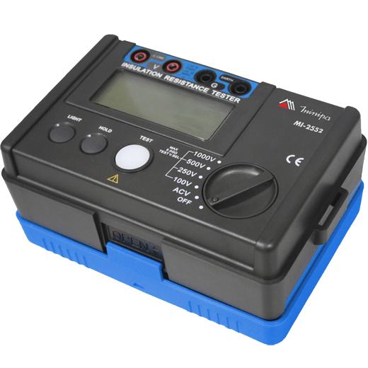 Megômetro (5.5GΩ/1KV) CAT III Minipa MI-2552