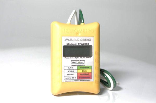 Terrômetro Digital (s/ uso de estacas) - Allnec - TPA-2000