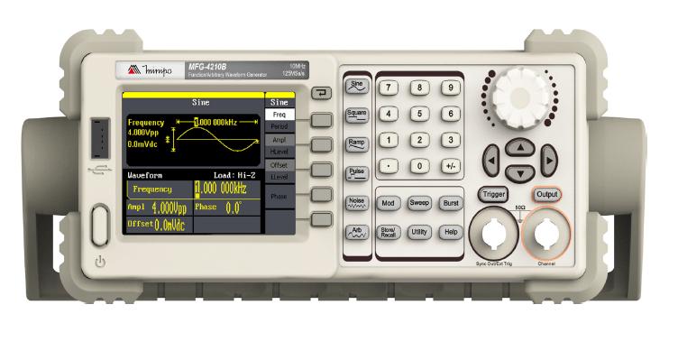 Gerador de Funções Ondas Arbitrárias 10MHz-USB-Função Lorentz - Minipa - MFG-4210B