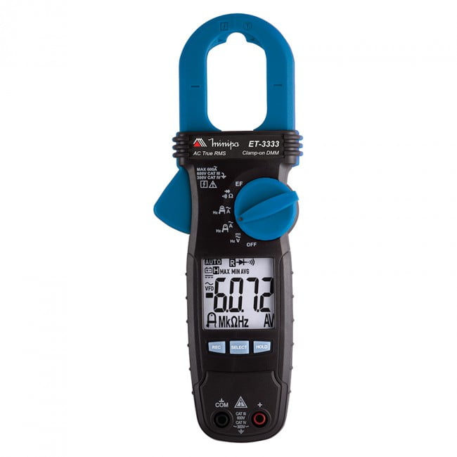 Alicate Amperímetro - CAT IV - 600ACA - Minipa - ET-3333