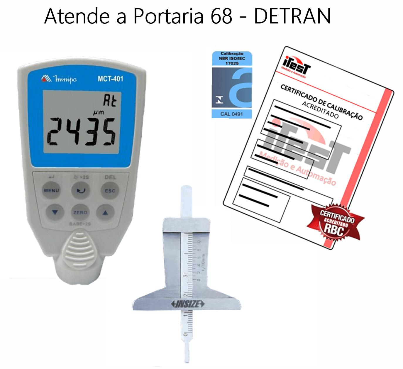 Kit Vistoria Veicular I - Paq Anal.- ACREDITADO RBC