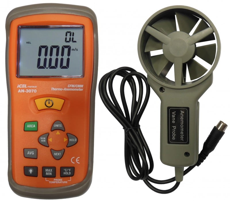 Termo-Anemômetro - AN-3070