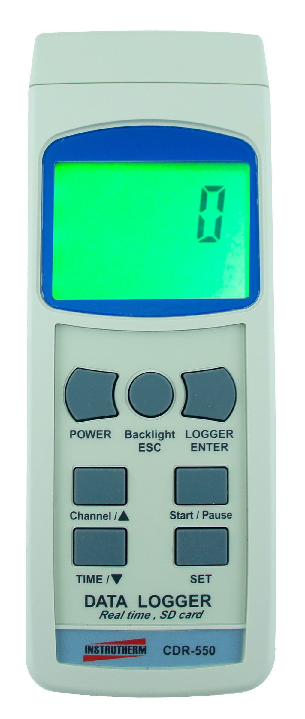 Datalogger Digital com Entrada para Cartão SD E Interface RS-232 - CDR-550