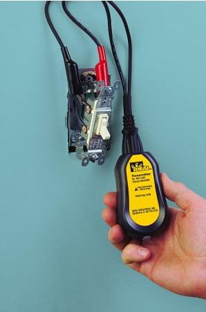 Adaptador p/ Identificador Autom. de Circuitos jacaré - TL-532A - (Acessório p/ Identif. Autom. de Circuitos 61-534) - IDEAL