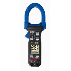 Alicate Wattímetro Trifásico  CAT III True RMS c/ USB (c/ Med Energia-KWh e THD%)- Minipa - ET-4091