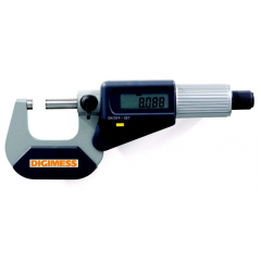 Micrômetro Digital Externo 0-25 mm IP-40 - leitura 0,001 mm - Digimess - 110.284