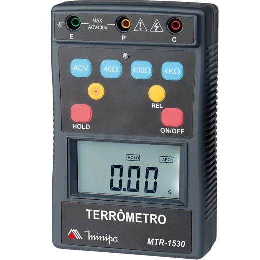 Terrômetro 4 KΩ CAT IV Minipa - MTR-1530
