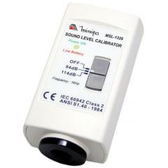Calibrador Classe II p/ Dosímetro e Decibelímetros - Minipa - MSL-1326