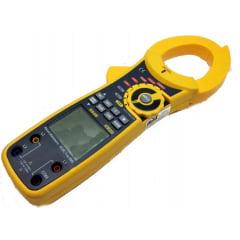 Alicate Wattimetro Trifásico  CAT IV  True RMS   c/ Data Logger /  USB - NCV (c/ Med de Energia - KWh) - Hikari - HA-4020