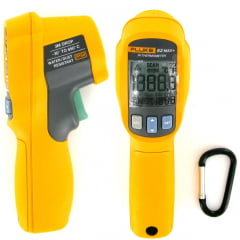 Termômetro Infraverm (-30 a 650ºC - 12:1)  IP54  Fluke - 62 MAX+