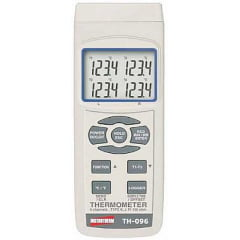 Termômetro Tipo K/J (4x canais) - RS-232 Data Logger - TH-096