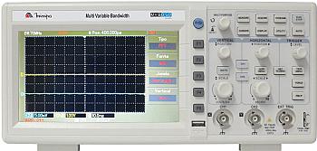 Osciloscópio 100MHz 2 canais, 1GS/s LCD Minipa - MVB-DSO-100