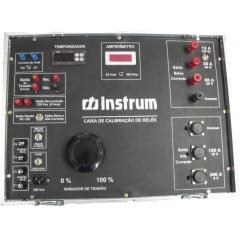 Caixa de Calibração de Relés Monofásica 300A- Instrum - CCR-300